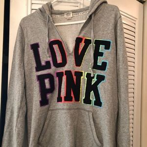 ⚡️VS PINK⚡️ Hooded Pullover - Size M